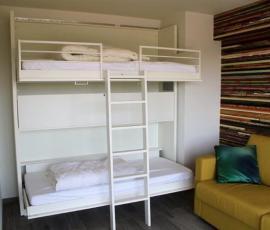 slaapkamer met duinenzicht